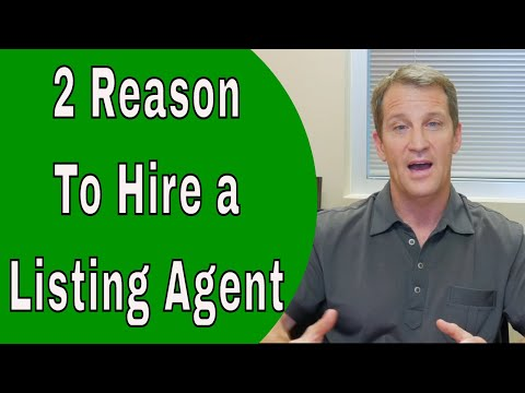 The ONLY 2 Reasons to Hire a Listing Agent - Home Selling Tips