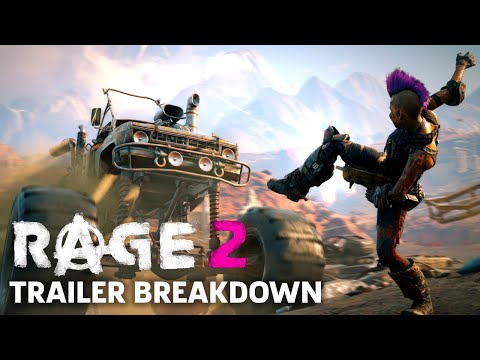 Rage 2 Gameplay Trailer Breakdown