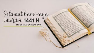 Ucapan Selamat Hari Raya Idulfitri 1441 H, Stay at Home Stay Health