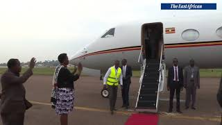 Museveni off to Angola to meet Kagame over tensions - VIDEO