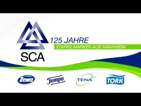 Starke Marken seit 125 Jahren - SCA
