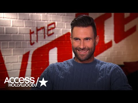 Adam Levine On Gwen Stefani & Blake Shelton's Relationship (Exclusive) | Access Hollywood