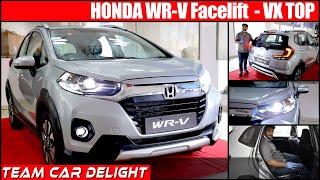 New Honda WRV 2020 Facelift Live Walkaround,On Road Price | Honda WRV Review