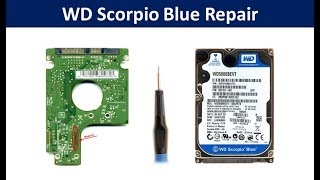 WD Scorpio Blue  clicking repair data recovery WD10TPVT WD7500BPVT WD6400BPVT WD5000BEVT  2060  7716