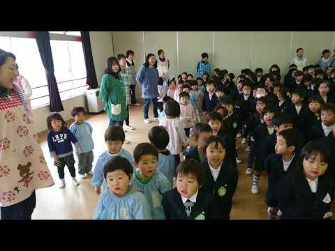 笠間 友部 ともべ幼稚園 子育て情報「終業式 園児の歌 お正月」