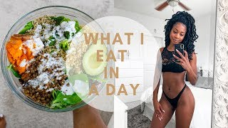 what i eat in a day: simple vegan meals