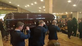 Прощание с Дмитрием Марьяновым. Последние аплодисменты.