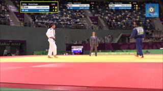Ilias Iliadis vs Aleksandar Kukolj European games Baku 2015