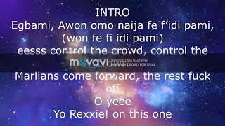 Naira Marley   PXTA (LyricsOfficial Lyric Video)