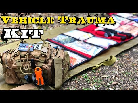 My Compact Vehicle Emergency First Aid Kit