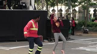 Baby Shima nahan ketawa lihat joget lagi syantik versi indian