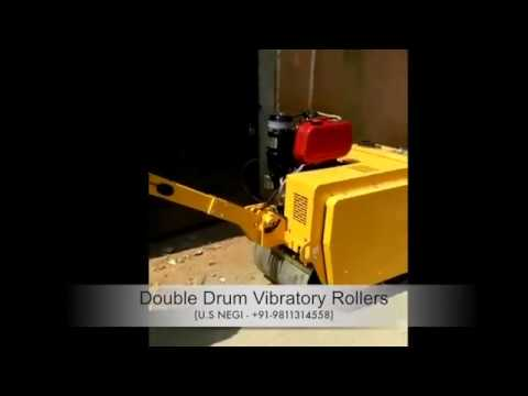 Concat Walk Behind Vibrator Rollers