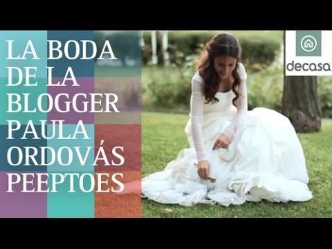 La boda de la blogger Paula Ordovás Peeptoes (Programa Completo) | Mi boda