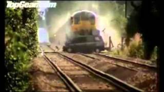 CCTV Footage - Hitler's car gets hit by a Fegel-train!