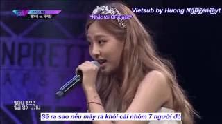 [Vietsub] Janey vs Yook Ji Dam @Diss Rap Battle EP 04 [UNPRETTY RAPSTAR 3]