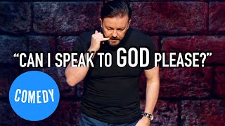 Ricky Gervais On What Counts As An Act Of God | Universal Comedy