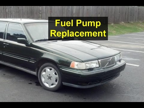Fuel pump removal, Volvo 960, S90, V90, 965, etc. - VOTD