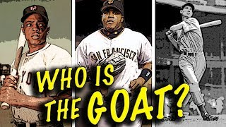 WHO IS THE GREATEST BASEBALL PLAYER OF ALL TIME??