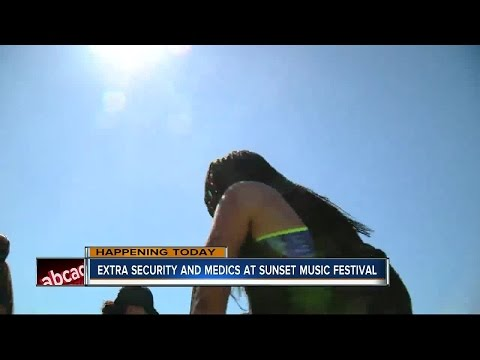 Extra security and medics for festival