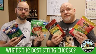 Whats The Best String Cheese? | Blind Taste Test