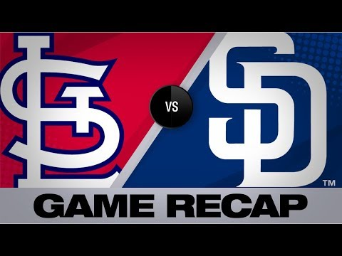 Padres smack 5 homers in 12-2 win | Cardinals-Padres Game Highlights 6/29/19