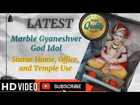 Marble Gyaneshver Statue