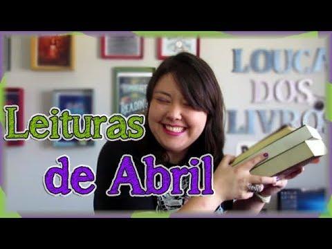 Leituras de abril | Louca dos livros 2018