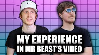 My Experience Being in a Mr Beast Video!