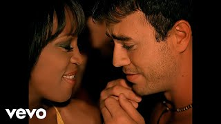 Enrique Iglesias & Whitney Houston - Could I Have This Kiss Forever