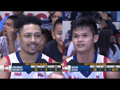 Best Players: Rashawn McCarthy and Reden Celda | PBA Commissioner's Cup 2018