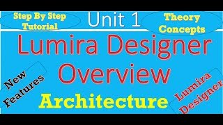 Lumira Designer Introduction/Overview and Architecture :Unit 1