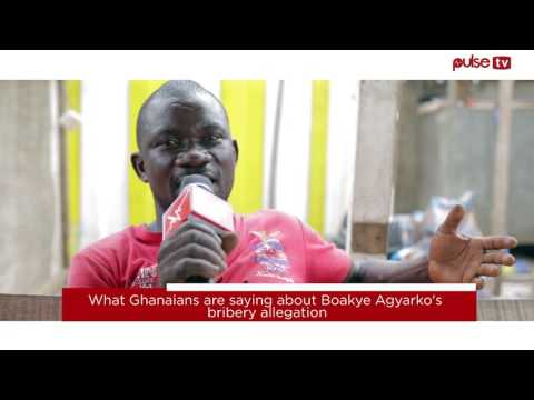 Video: What Ghanaians are saying about Agyarko's bribery allegation case