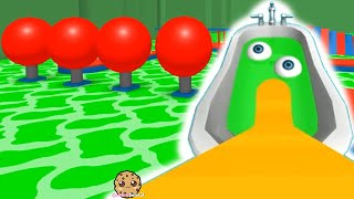 Swimming In Green Pool Let's Play Random Roblox Games Video