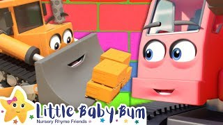 Construction Vehicles For Kids - Little Baby Bum | More Nursery Rhymes & Baby Songs | Vehicle Songs