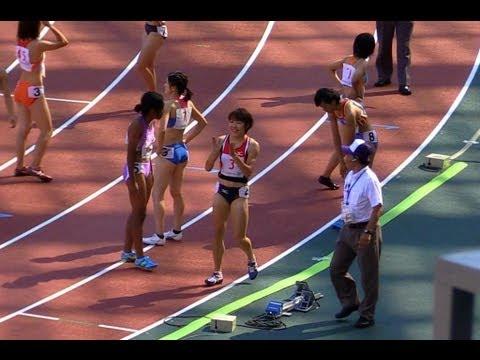 東京国体女子4x100mR決勝 岩手(川村-小山-土橋-藤沢)44.89