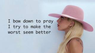 Lady Gaga   Million Reasons (Lyrics)