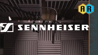 Sennheiser Shotgun Microphone Accessories - MZH60-1, MZW 60-1 Blimp Windscreen, and MZS 20-1
