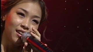 Lena Park(박정현) - SummerTime (Diana Ross. blues cover) @ 2002.07.17 Live Stage