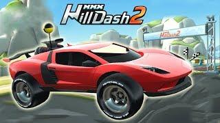 Мультики про машинки для мальчиков игры на андроид MMX Hill Dash 2 уровень ТРОПИКИ
