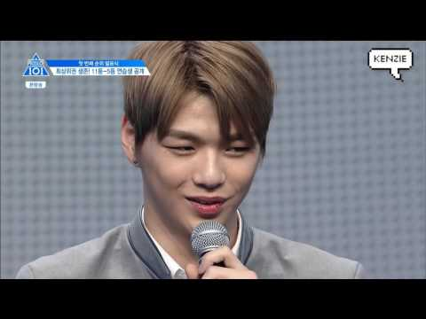 [produce 101- Final] Kang Daniel from ep1 to ep11 CUT