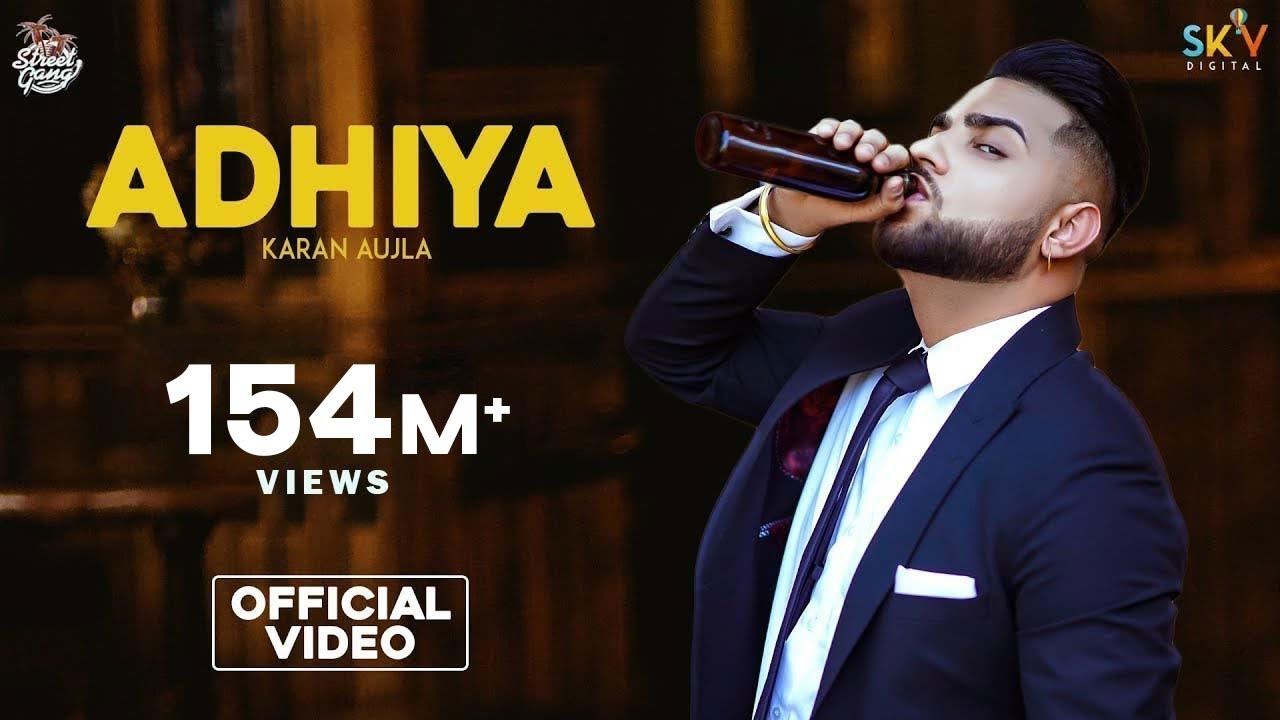 ADHIYA LYRICS-Karan Aujla-Punjabi Song | LATEST BANGLA AND
