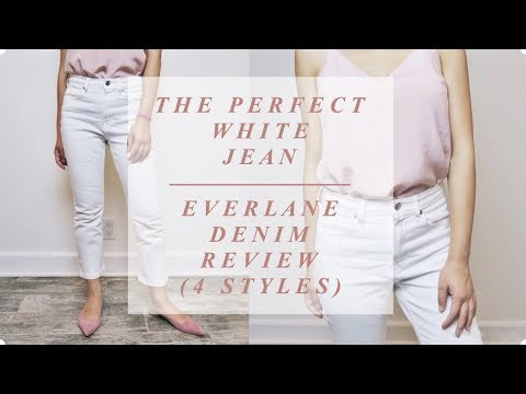 EVERLANE DENIM TRY ON HAUL & REVIEW (4 Styles)