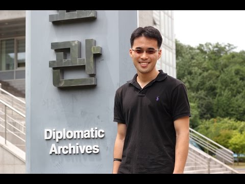 ND Student Researches at the Diplomatic Archives of Korea