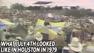 Long Lines at the Gas Pumps in Houston – 1979