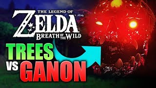 Breath of the Wild: How Many TREE BRANCHES Does it Take to KILL Calamity Ganon? (#TeamTrees)