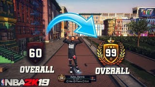 How to Rep up fast on NBA 2K19! GO FROM 60 OVERALL TO 99 OVERALL IN MONTHS! NBA 2K19 REP METHOD
