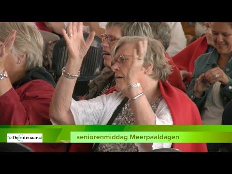 VIDEO | Mark Doldersum en The Wieners vallen in de smaak bij seniorenmiddag Meerpaaldagen
