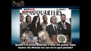 Randy Jackson on Al Sharpton's show -  Why Michael Jackson's Will is FAKE sub ita.avi