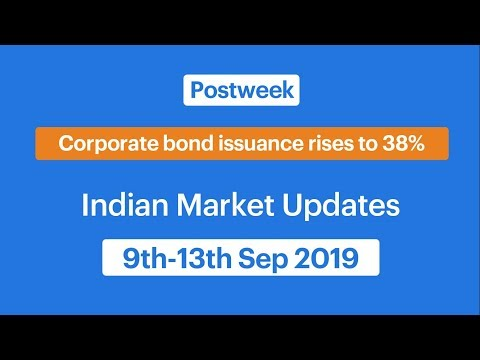 Stock Market Updates (9th-13th Sep 2019)