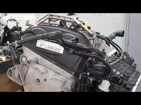 1.4 TSI EA211 Масложор Разборка двигателя